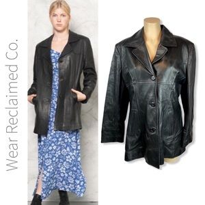BOUTIQUE OF LEATHERS Black Leather Jacket
